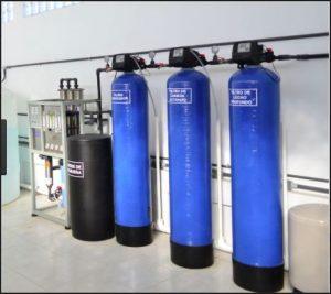 Sistema de tratamiento de agua comercial
